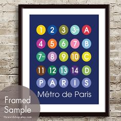 """I'm buying this for my """"ode to Paris"""" wall (yet to be created)."""