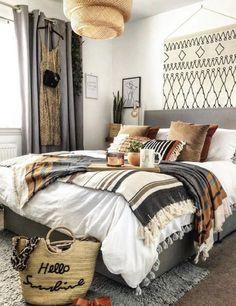 Bohemian Bedroom Decor to Inspire You. Bohemian Bedroom Decor to Inspire You. Western Bedroom Decor, Bohemian Bedroom Decor, Mexican Bedroom Decor, Room Ideas Bedroom, Home Decor Bedroom, Master Bedroom, Bedroom Signs, Entryway Decor, Style Deco