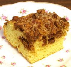Cinnamon Pecan Coffee Cake Recipe