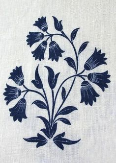 Fabrics & Linens: British Raj Prints from Borderline