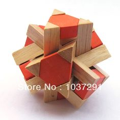 chinese Wooden puzzle Toys | Funny Chinese Traditional Wooden Educational Toys for Adult Children ...