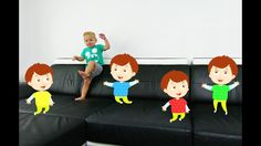 Five Bad Baby Jumping on the Bed, Baby Nursery Rhymes Song for kids. Five Little Babies Jumping on the Bed Song for children, toddlers and babies. Funny educ...