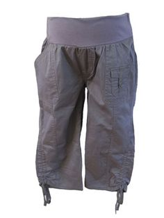 Gray Capris by Oh! Mamma - Maternity Clothing - Flybelly Maternity Clothing