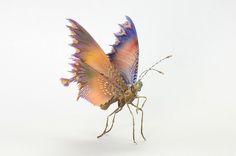 Hiroshi Shinno é um artista japonês apaixonado por animais e insetos de todos os tipos. Em sua última série criada, o artista construiu espécies de insetos imaginários de resina e tintas acrílicas.…