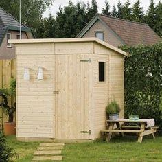 Abri de jardin Thor - 3,17 m2 en bois 13 mm avec plancher - Plantes et Jardins