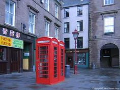 Used to play on these phone booths. That Chinese place had the best chips and gravy!