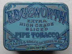 EDGEWORTH TOBACCO TIN 1930s