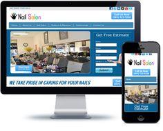 Nail Salon Website Template - http://videogalleria.net/downloads/nail-salon-website-template/
