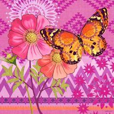 Mariposa Cosmos by Jennifer Brinley | Ruth Levison Design