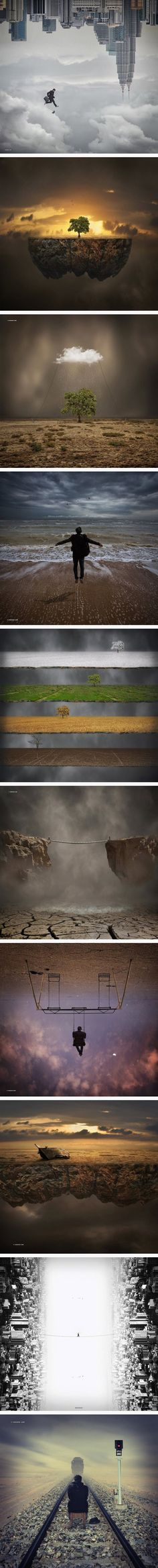 Zivana: Top one: Surreal Photo Manipulations by Hossein Zare