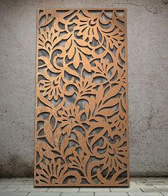 Botanical | Miles and Lincoln | Laser cut screens | Laser cut panels                                                                                                                                                                                 More