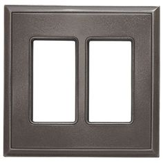 Classic Magnetic Double GFCI Wall Plate