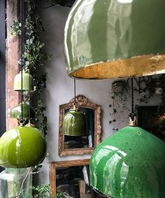 """Lampe toque, les """"Suspentes Keaton"""" by Béatrice Markovitch. Lustre Vintage, Deco Luminaire, Ceramic Light, Ceramic Lamps, Ceramic Texture, Ceramic Pottery, Interior Decorating, Interior Design, Interior Colors"""