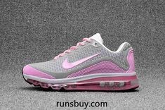7fb800af729612 New Coming Nike Air Max 2017.8 KPU Grey Pink Women Shoes Cheap Sneakers