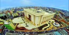Galdino Saquarema 1ª Página: Inaugurado o Megatemplo de Salomão da Igreja Universal