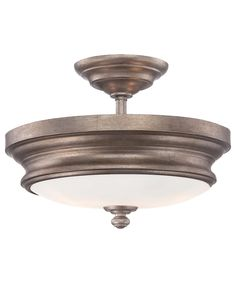 Minka Lavery 4867 Wellington Ave. 13 Inch Semi Flush Mount | Capitol Lighting 1-800lighting.com
