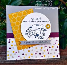 Carolyn's Paper Fantasies: TSSC350 - Giggle Greetings Congratulations