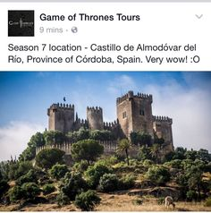 Game of thrones. Spain.