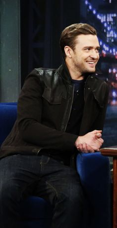Justin Timberlake -- I just love him! He's so handsome
