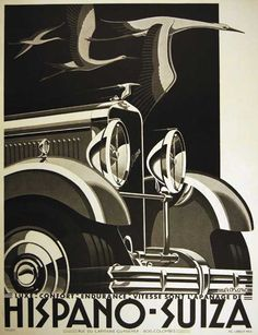 Hispano-Suiza_H6C Advertising Poster