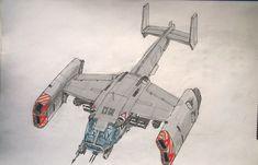 Night bomber by YuryMilovidov on DeviantArt Spaceship Concept, Concept Ships, Concept Art, Futuristic Cars, Futuristic Design, Kerbal Space Program, Sci Fi Environment, Sci Fi Models, Sci Fi Ships