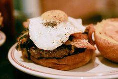 Hamburguesa sin huevo, sin bacon, sin todos ;-)
