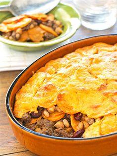 Sweet Potato and Bean Casserole