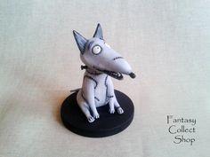 Sparky Custom Figurine Frankenweenie Toy Cartoon Dog Figure Frankenstein From Puppy Tim Burton Film