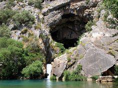 Cueva del Gato (Cave of the Cat)  Spain    Fantastic photo by Elhawk.