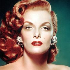Check out those lashes on the luminous siren, Jane Russell. For Jane's super sultry moment, Glad Girl's April Lashes with a touch of our Lashe EnMasse Mascara.