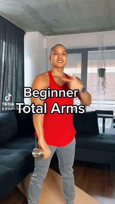 Fitness Workouts, Gym Workout Videos, Gym Workout For Beginners, Fitness Workout For Women, Beginner Arm Workouts, Workouts For Arms, Bodyweight Arm Workout, Inner Leg Workouts, Full Arm Workout