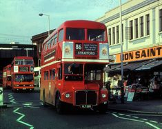 London Bus, Old London, Cycling In London, Old Lorries, East End London, Routemaster, Red Bus, Double Decker Bus, London History