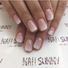 Enter gorgeous bridal nail arts that can be customised to match your ensemble; think stunning gold-traced tips, miniature floral designs, stylish glitter nails or even OTT embellished nails that are… Cute Nails, Pretty Nails, Classy Nails, Gorgeous Nails, Bridal Nail Art, Bridal Nails French, French Wedding, Elegant Bridal Nails, Elegant Wedding