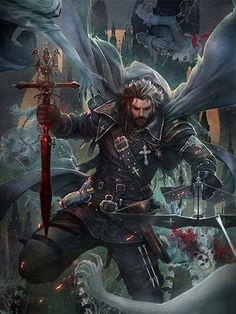Human, male, crossbow