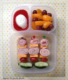 Lunch Made Easy: Rainbow of Colors Bento Lunchbox  @Easylunchboxes #GlutenFree #NutFree