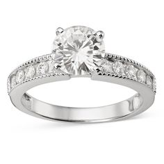 Gold, Under $800, Moissanite Moissanite Rings: Free Shipping on orders over $45 at Overstock.com - Your Online Rings Store! Get 5% in rewards with Club O!