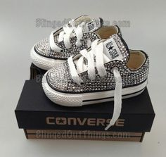 Rhinestone converse.. My little girl will have these! Bling Converse d1910bb0c