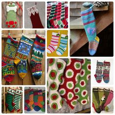 Take heart! There is still time to knit or crochet a stocking for Christmas. Whether you are looking for a simple stocking or a fancy doodle one, there is something here for everyone. Most patterns…