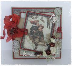 DT Kort og Godt-vintage julekort