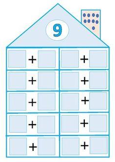 Montessori Math, Preschool Learning Activities, Teaching Math, Maths, Halloween Wood Signs, Numicon, Paper Trail, Teaching Materials, I School