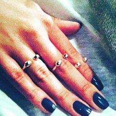 Custom made rings @adelinaneferu