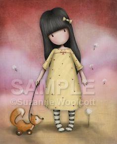 gorjuss - suzanne woolcott - freelance glasgow digital artist / illustrator