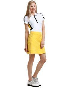 Simple Women39s Grand Slam Tummy Control Golf Skort Size Large Turquoise