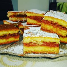 Greek Sweets, Greek Desserts, Greek Recipes, Sweets Recipes, Cake Recipes, Apple Torte, Apple Pie, Greek Cake, Dessert Bars