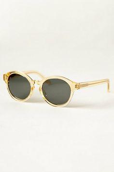 Raen Optics Flower Champagne Sunglasses