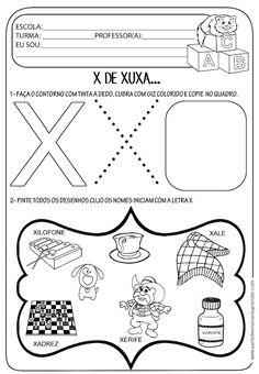 Atividade pronta - Letra X