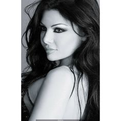 Haifa Wehbe Arab Makeup ❤ liked on Polyvore featuring beauty products, makeup, models and people