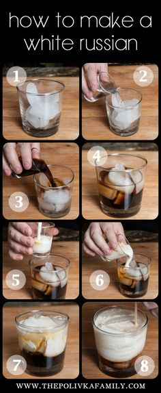 How to make a real food White Russian {+eBook GIVEAWAY!!} / http://www.thepolivkafamily.com/2013/04/real-food-white-russian/