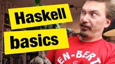 Haskell Basics - FunFunFunction #35 Buena charla sobre el sistema de tipado en Haskell HaskellMAD