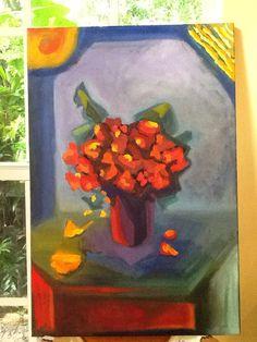 Original oil painting.  Color it up!